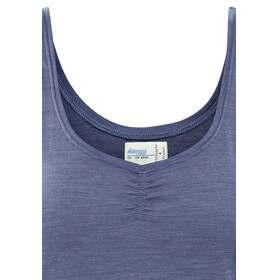 Bergans Linnea Wool Singlet Lady dusty blue melange